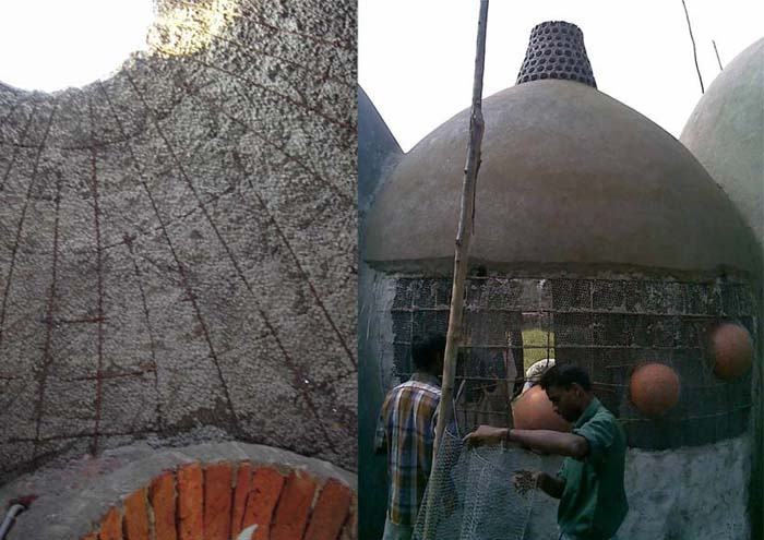 Ferrocement Roof Material Natural Building Building