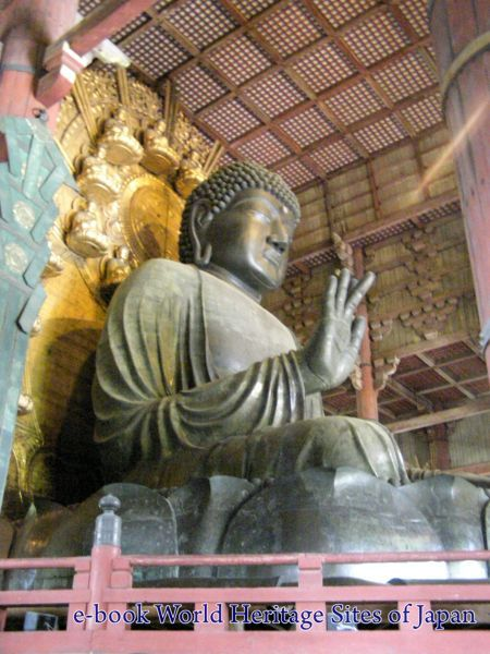 Great Buddha (Daibutsu) of Todai-ji Temple in Nara. UNESCO site. #Japan #UNESCO #WHS #Nara #Bigbuddha #Buddha #WHSJapan #temple
