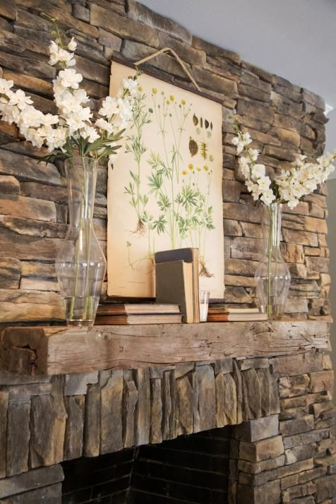 best 20+ stacked rock fireplace ideas on pinterest | stacked stone