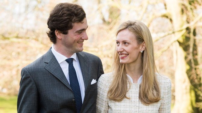 Engagement pictures: Prince Amedeo and Elisabetta Maria Rosboch von Wolkenstein