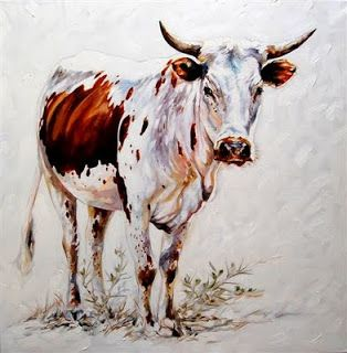 Terry Kobus - Nguni Art: Nguni Cattle