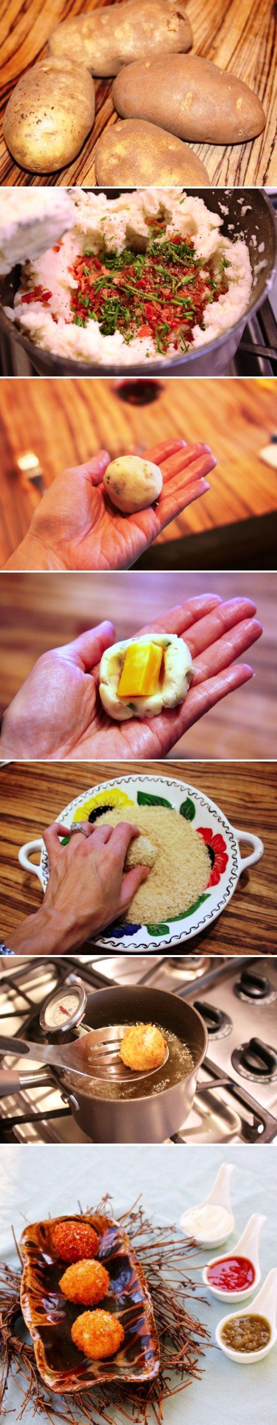 Loaded Baked Potato Balls