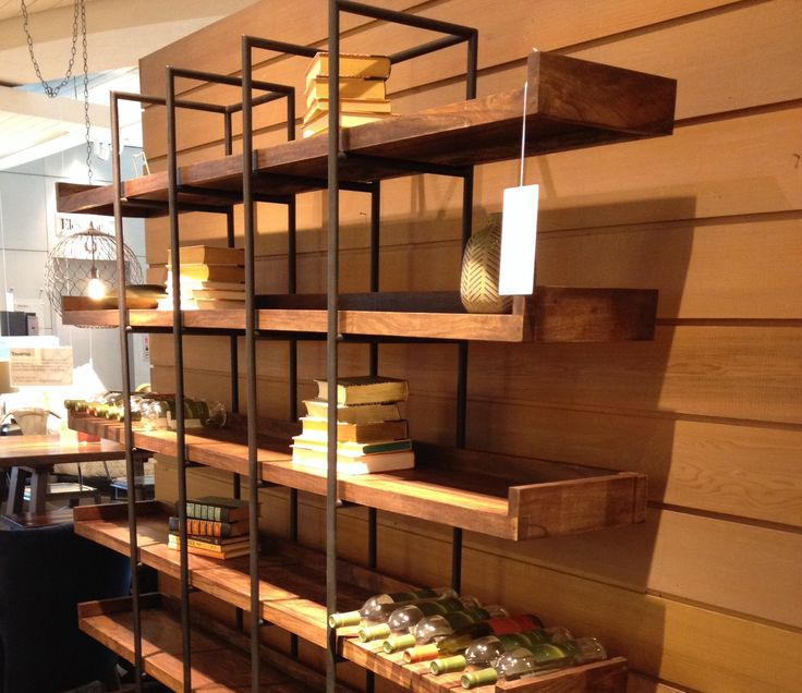 Crate and Barrel shelving | Home | Pinterest | Shelving ...