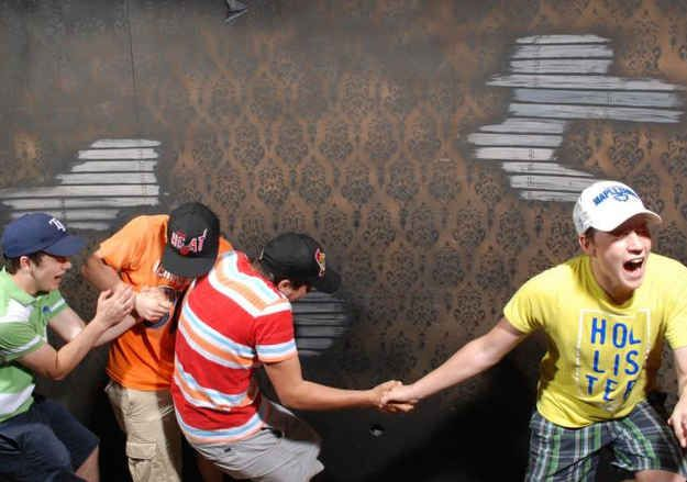 The 44 Best Pictures Of Scared Bros At A Haunted House Of 2013