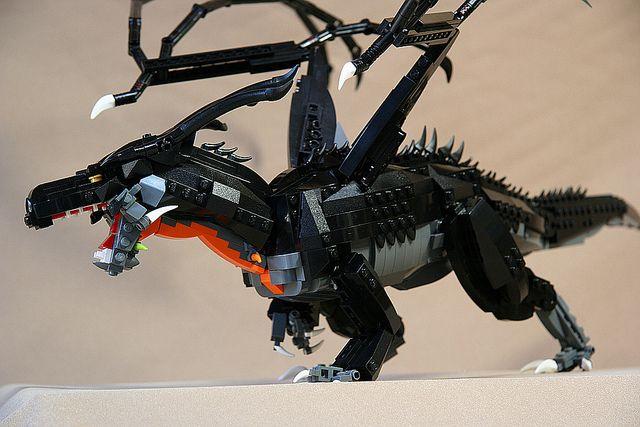 Stormbringer -  awesome LEGO dragon   Flickr - Photo Sharing!
