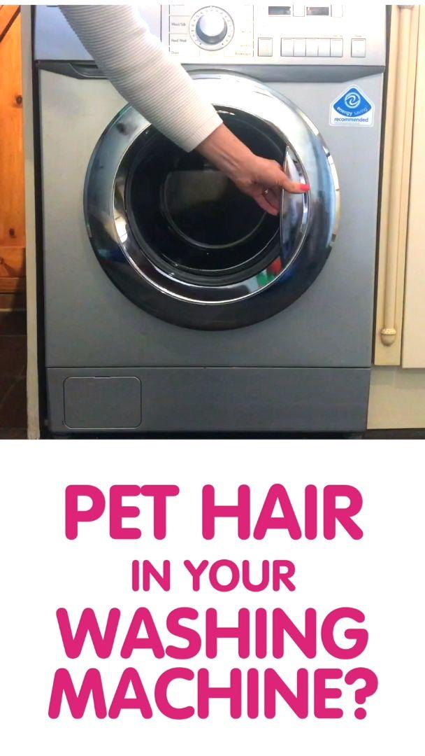 Amazing Washing Machine Pet Hair Remover Vamoosh Pet Hair Dissolver Video In 2020 Pet Hair Pet Hair Removal Washing Machine