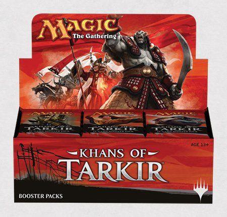 Khans of Tarkir - Magic the Gathering Sealed Booster Box (MTG) (36 Packs) Magic: the Gathering http://www.amazon.com/dp/B00LGEBV6Q/ref=cm_sw_r_pi_dp_lpDHub0DYCF6S