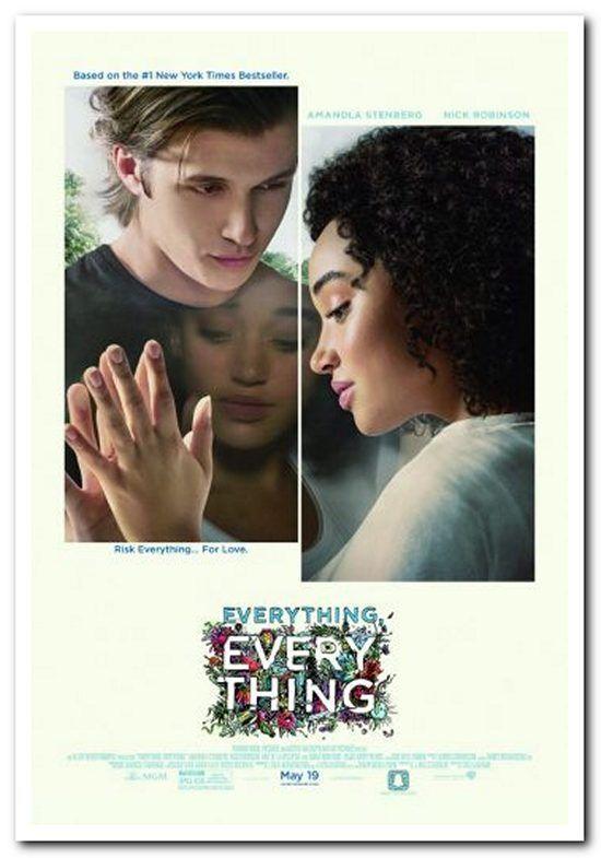 EVERYTHING EVERYTHING - 2017 - Original 27x40 REG Movie Poster - NICK ROBINSON