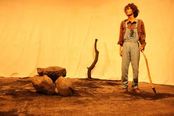 """A photo of scenes from """"Happiness Hunting"""", a one act Play by Robert Bruce """"Bo"""" Anderson, directed by me."""