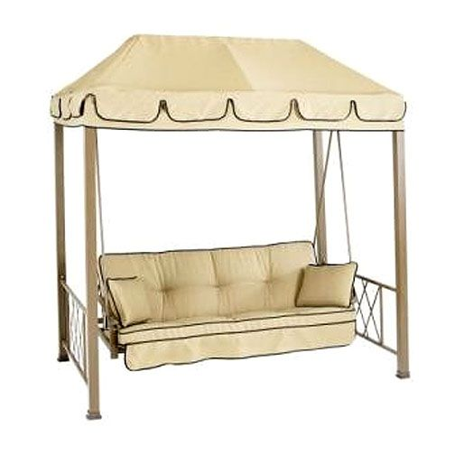 Hampton Bay Verrado Folian Gazebo Style Ptio Swing. Replacement CanopyPatio  ...