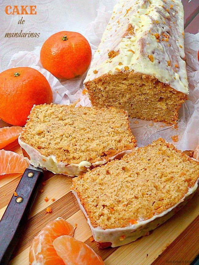 Cake de mandarina Ingredientes para el bizcocho:  - 4 mandarinas. - 2 huevos…