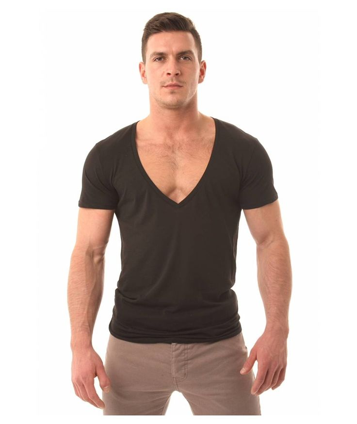Mens V Neck T Shirts. Whether you're looking for a comfortable shirt to relax in or a bright shirt for work, men's V-neck T-shirts are an ideal choice for every wardrobe.
