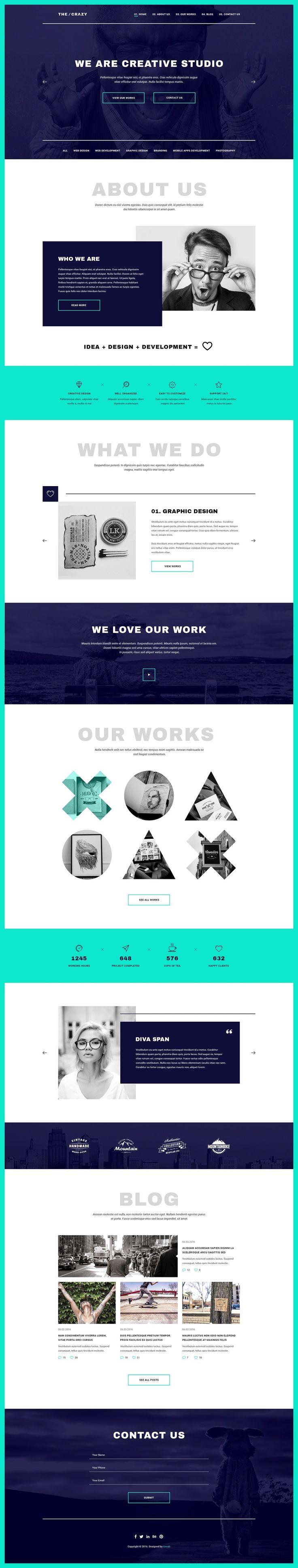 Most Creative Web Themes #DESIGN