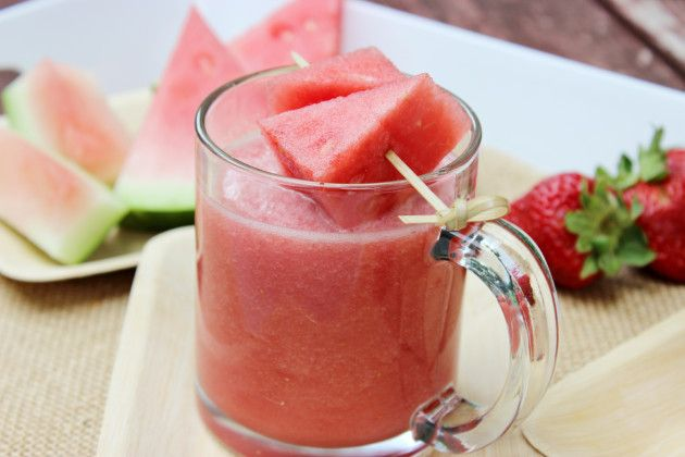 Watermelon Strawberry All-Fruit Smoothie: Thirst-Quenching Summer Fun - Food Fanatic