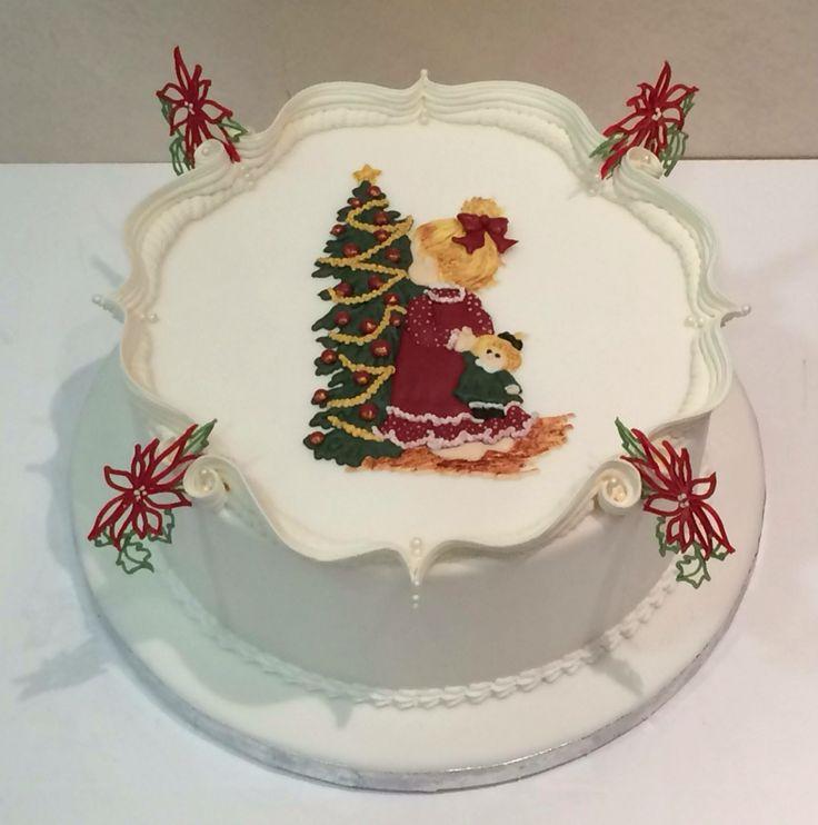Christmas Cake Royal Icing Decorating Ideas : 1000+ ideas about Royal Icing Cakes on Pinterest Royal ...