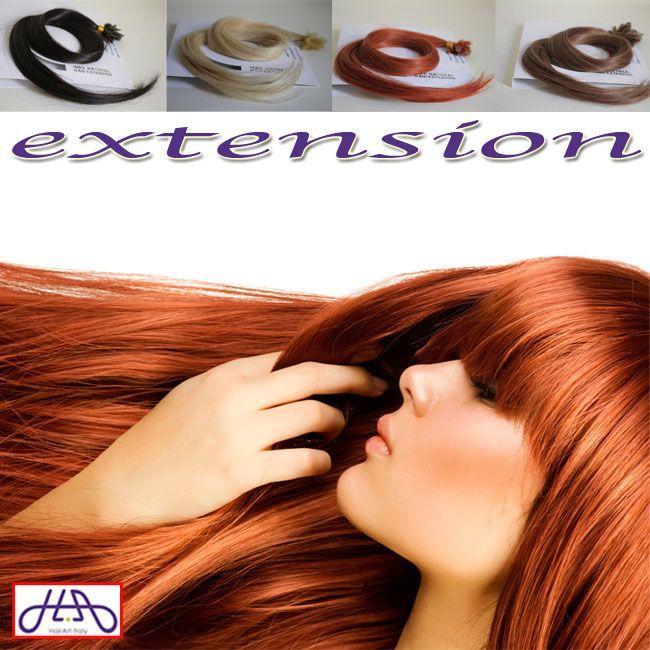 Con due confezioni di extension puoi infoltire la chioma e aggiungere volume al tuo look! Scegli il tuo colore preferito sullo store Amazon http://bit.ly/extension-AMAZON e sul nostro negozio online http://bit.ly/extension-HA: sugli acquisti superiori ai 55 euro hai 10 euro di sconto! #capelli #hairartitaly