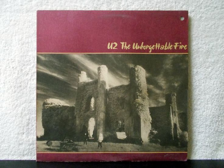 U2- The Unforgettable Fire. 1984 Island Records vintage vinyl LP 33 record album. Pride ( In The Name of Love). by AbqArtistry on Etsy