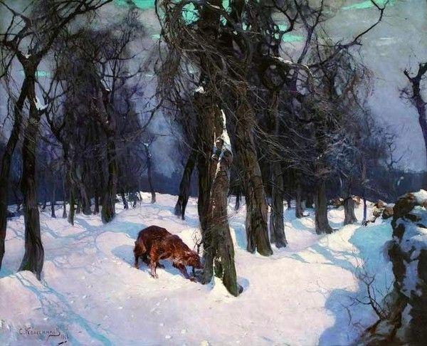 1918 Зима. На околице Одессы