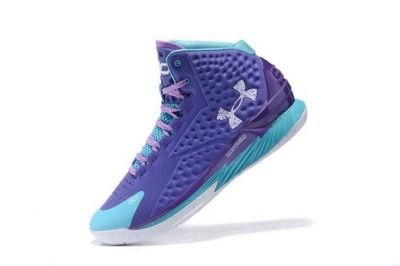 Under Armour UA Curry One 1 Father to Son Stephen Warriors MVP Purple Moon 1258723-478