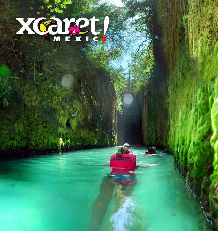 Delve into the trails of Xcaret to discover how the Mayan