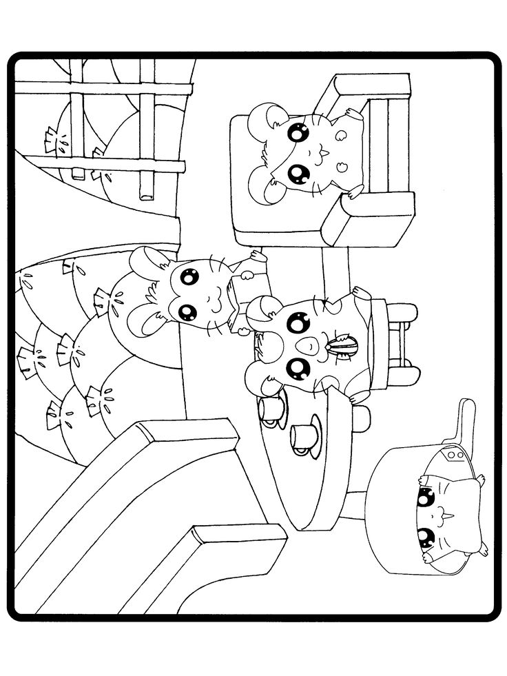 hamtaro coloring pages - Passover Coloring Pages Printable