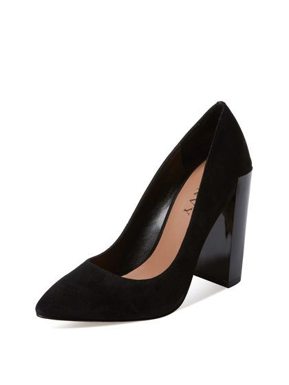 Caleigh Cupped Heel Pump by Renvy at Gilt