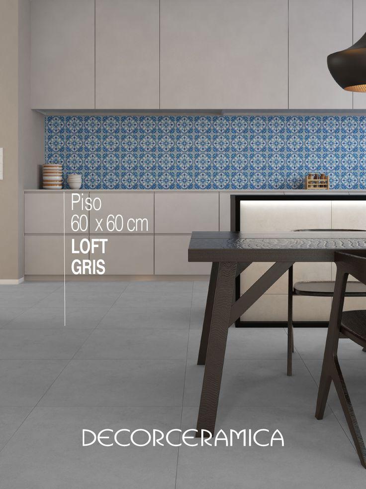 El diseño minimalista de este suelo encaja muy bien con cualquier clase de decoración y se puede instalar en todos los ambientes de tu casa…  ¡Cambia ya tus pisos!!!     #Decorceramica #SiempreAlgoNuevo #Pisos #Inspirandosenti #porcelanato #pisoporcelanato