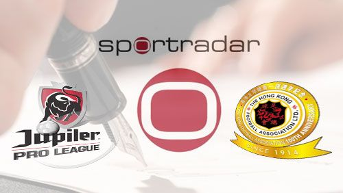 Sportradar announced that its partnership with the Belgian Pro League has been extended and it has signed a new deal with the Hong Kong FA.