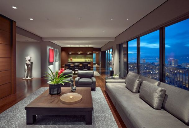 9 Gorgeous Brown and Gray Living Room Designs | HOME DESIGN
