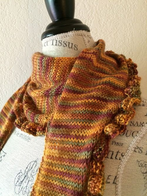 112 best images about KNITTED STOLE/SCARF on Pinterest