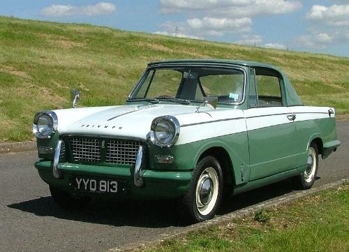 1960 Triumph Herald 948cc coupe