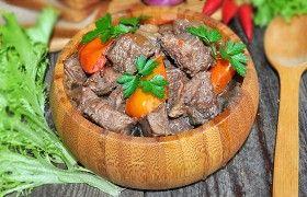 Тушеная говядина по-провански