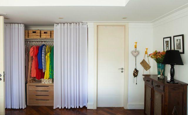 Buji guarda roupa f cil sapateira vintage e ganchinhos modernos enchem o quarto de bossa - Cortinados modernos ...
