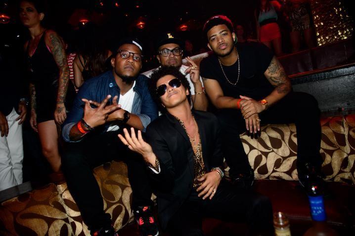 Bruno Mars Hits TAO Nightclub in Las Vegas (PHOTOS)