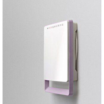 Radiateur soufflant salle de bain fixe électrique AURORA Touch parme 1800 W | Leroy Merlin