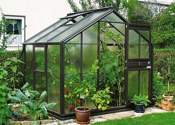 Modell A -- Breite 256 cm Typ Allgäu Gewächshäuser Shop - Beckmann KG - Ihr Spezialist für Gewächshaus und Gartenartikel