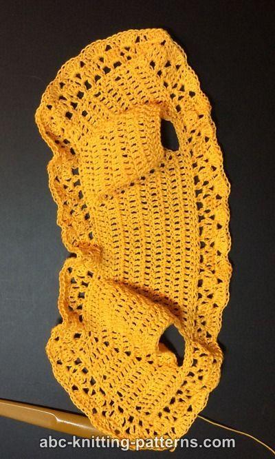 ABC Knitting Patterns - Free American Girl Doll Vintage Lace Bolero