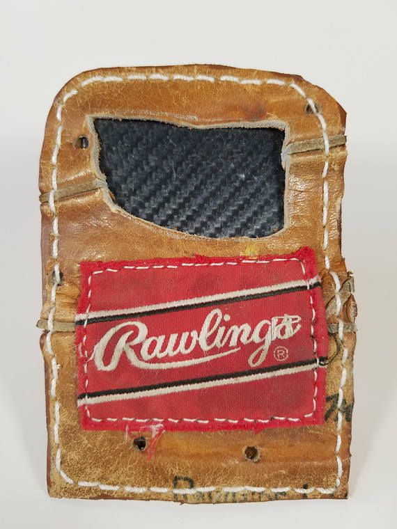 Check out this item in my Etsy shop https://www.etsy.com/listing/581287571/repurposed-rawlings-baseball-glove
