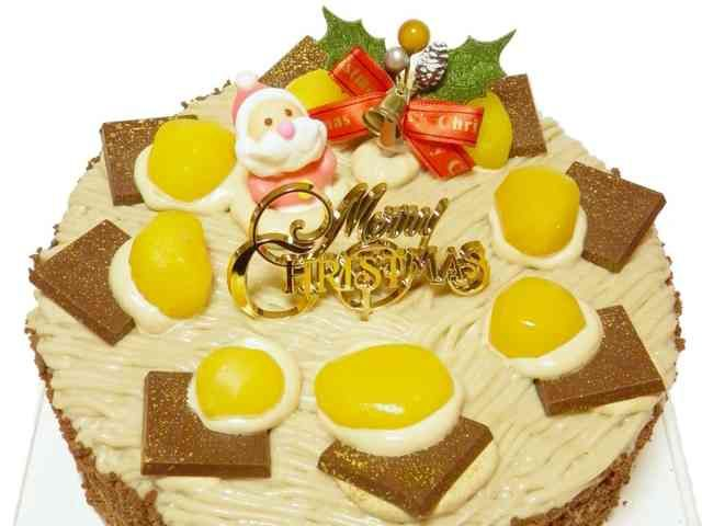 栗とモカの マロン モンブラン ケーキ♪の画像
