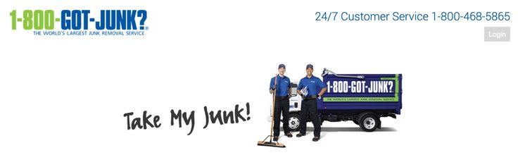 "recycle services: 1-800GotJunk? • U.S.junk removal service (as everything American claims to be ""The World's Largest"" junk removal service) • 24/7 Customer Service 1-800-468-5865 • not free! • co.: RBDS Rubbish Boys Disposal Service Inc."