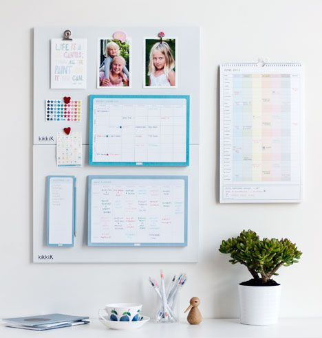 Family Command Centre // Planning ahead and staying in control of family commitments, school activities, social outings and more can be tough. It's an ongoing task, so rather than struggling to juggle everything, set up a command centre and feel the freedom this organisation brings.