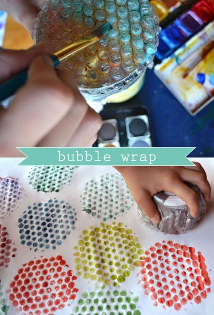 Brilliant ways to use bubble wrap | BabyCentre Blog