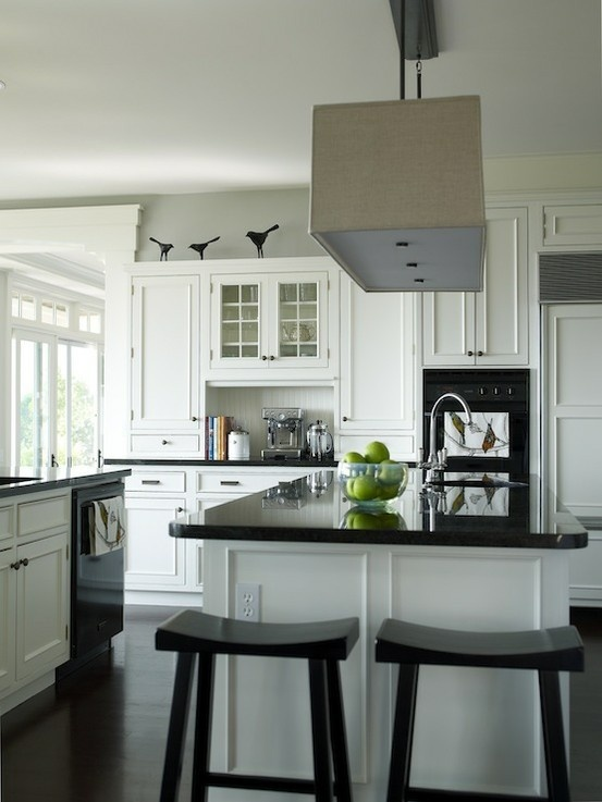 Best 25 Kitchen With Black Appliances Ideas On Pinterest Amusing Black And White Kitchens Designs Review