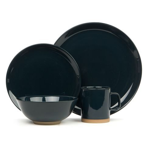 Royal Doulton - Barber & Osgerby Olio Blue Dinner Set 16pce | Peter's of Kensington