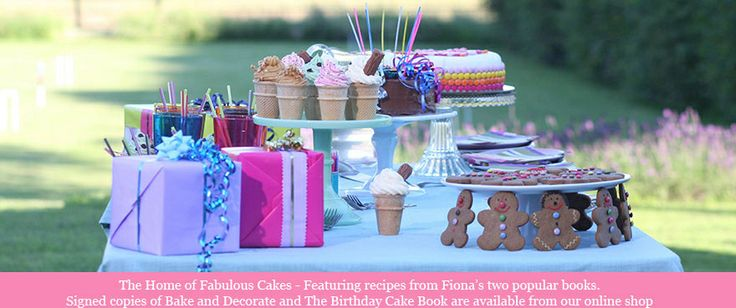 """Fiona Cairn's new TV programme """"The Home of Fabulous Cakes"""" featuring LBWI members in two episodes (Autumn 2012)."""