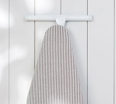 Ironing Board Cover, Wheaton Black And White Ticking Stripe