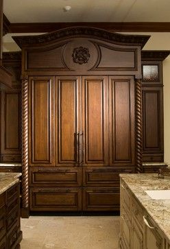 Mediterranean Kitchen cabinetry Design Ideas, Pictures, Remodel and Decor
