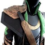 » How to make a loki costume part 8- Strap Armour. KhaosKostumes