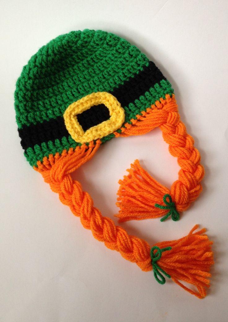 Kids Hat - Crocheted Kids Hat - Crochet Hat - Photo Prop - St Patricks Day Kids - St Patricks Day Kids Hat - Girl Hat - Knit Hat by TwoPeasInAPodCo on Etsy https://www.etsy.com/listing/174401335/kids-hat-crocheted-kids-hat-crochet-hat