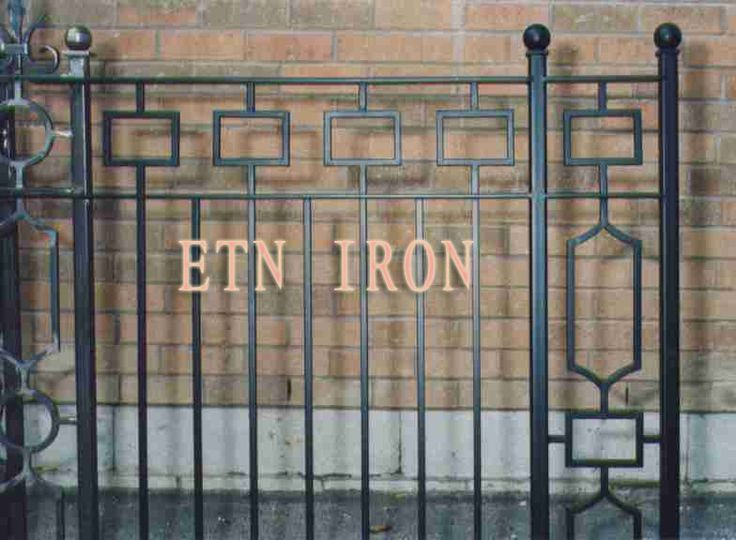 18 best Wrought Iron Fence images on Pinterest | Wrought iron ...